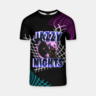 Thumbnail image of jazzy nights T-shirt, Live Heroes