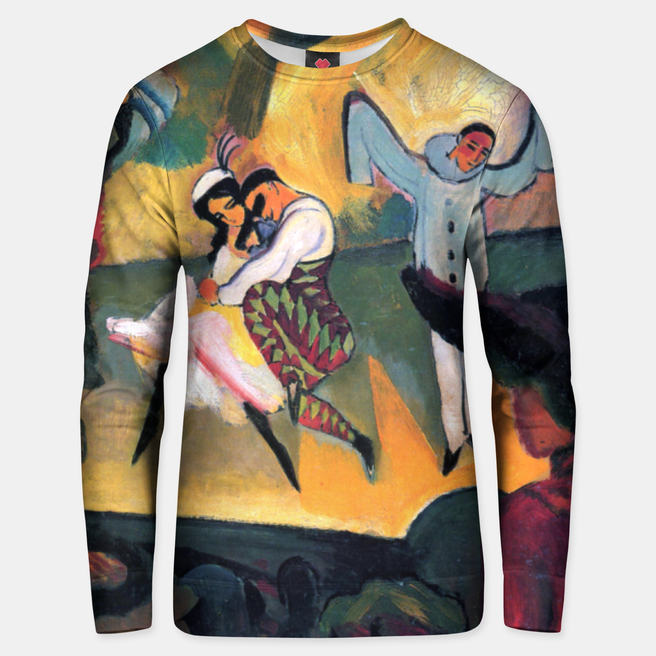 Image of Fashion items and decor art of August MacKe - Russian Ballet Unisex sweater - Live Heroes