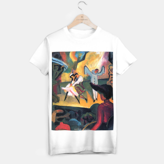Fashion items and decor art of August MacKe - Russian Ballet T-shirt regular thumbnail image