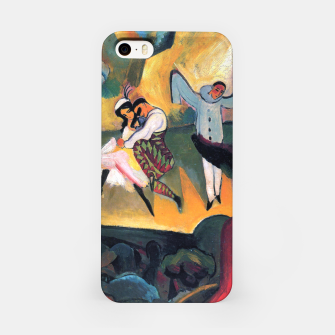 Fashion items and decor art of August MacKe - Russian Ballet iPhone Case thumbnail image