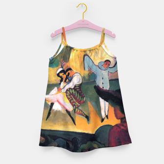 Fashion items and decor art of August MacKe - Russian Ballet Girl's dress thumbnail image