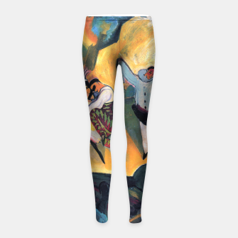 Fashion items and decor art of August MacKe - Russian Ballet Girl's leggings thumbnail image