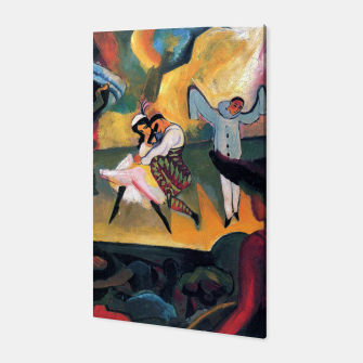 Fashion items and decor art of August MacKe - Russian Ballet Canvas thumbnail image