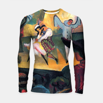 Fashion items and decor art of August MacKe - Russian Ballet Longsleeve rashguard  thumbnail image