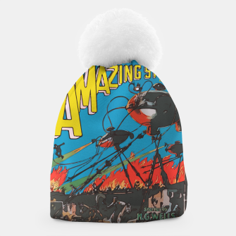 Miniaturka Fashion art of Amazing Stories Comic Magazine with H.G. Wells Beanie, Live Heroes