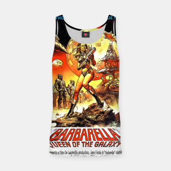 Fashion art and decor items of Barbarella Sci-fi Movie Poster Tank Top thumbnail image