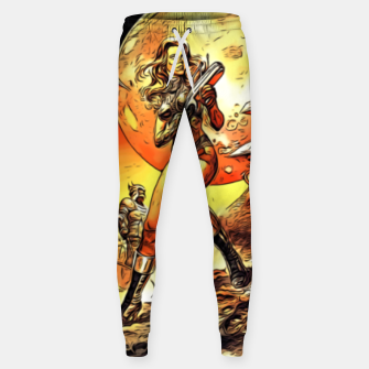 Fashion art and decor items of Barbarella Sci-fi Movie Poster Sweatpants thumbnail image
