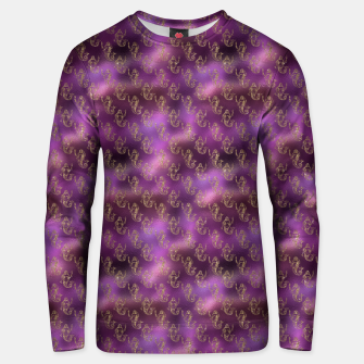 Miniatur Pink and Gold Glitter Mermaids Unisex sweater, Live Heroes
