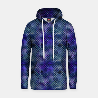 Thumbnail image of Purple and Pale Blue Mermaid Glitter Scales Hoodie, Live Heroes