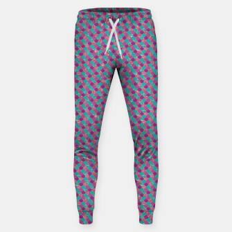 Imagen en miniatura de Purple Aqua and Gold Glitter Mermaid Scales Sweatpants, Live Heroes