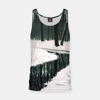 Winter forest Tank Top thumbnail image