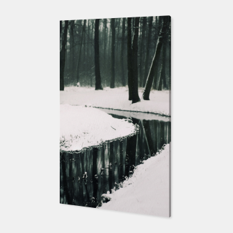 Winter forest Canvas thumbnail image