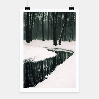 Thumbnail image of Winter forest Plakat, Live Heroes