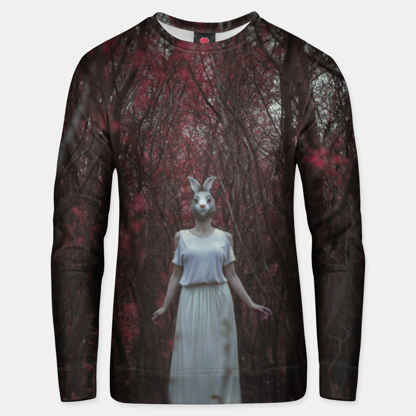 Image of The silence of the woods Bluza unisex - Live Heroes