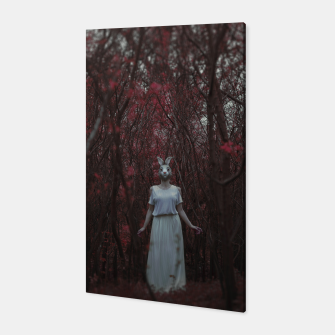 Miniatur The silence of the woods Canvas, Live Heroes