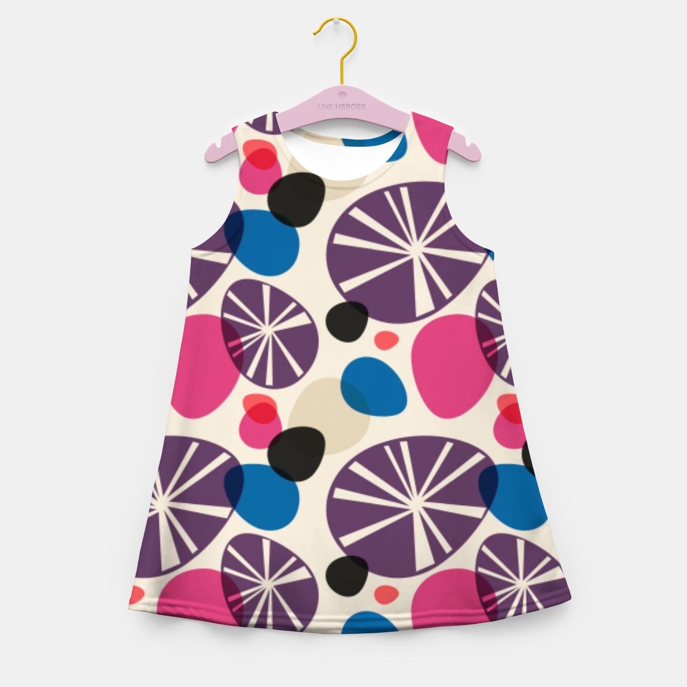 Image of Pebbles Girl's summer dress - Live Heroes