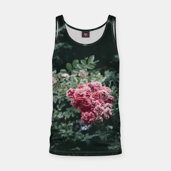 Red flowers Tank Top thumbnail image