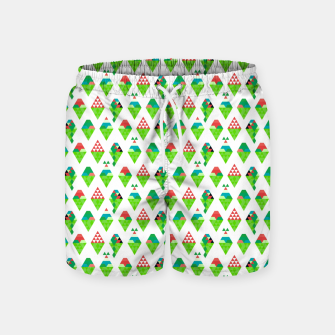 Miniatur Lucys Ice Cream Green – Swim Shorts, Live Heroes