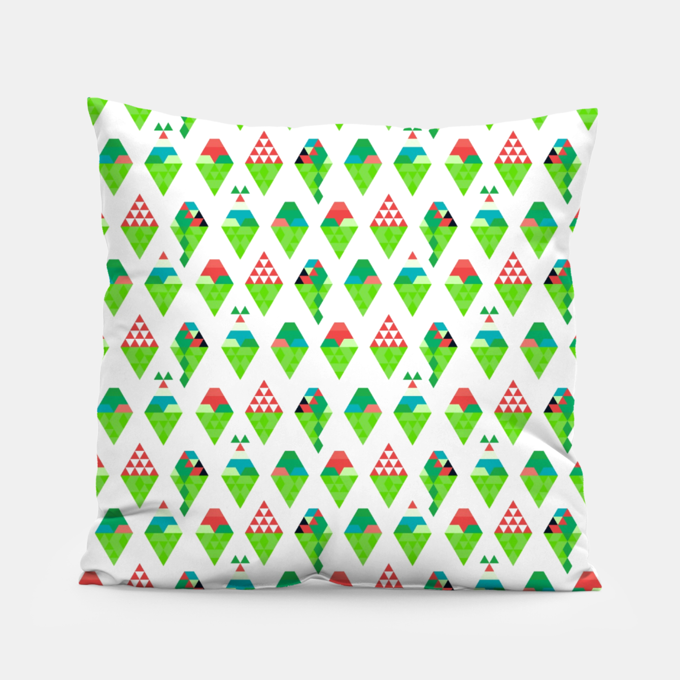Image of Lucys Ice Cream Green – Pillow - Live Heroes