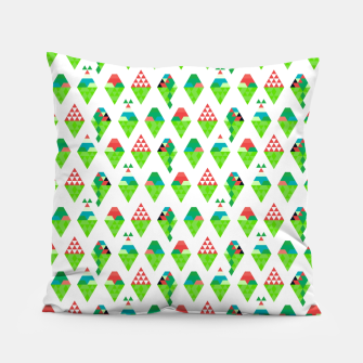 Lucys Ice Cream Green – Pillow thumbnail image