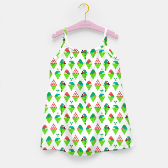 Thumbnail image of Lucys Ice Cream Green – Girl's dress, Live Heroes