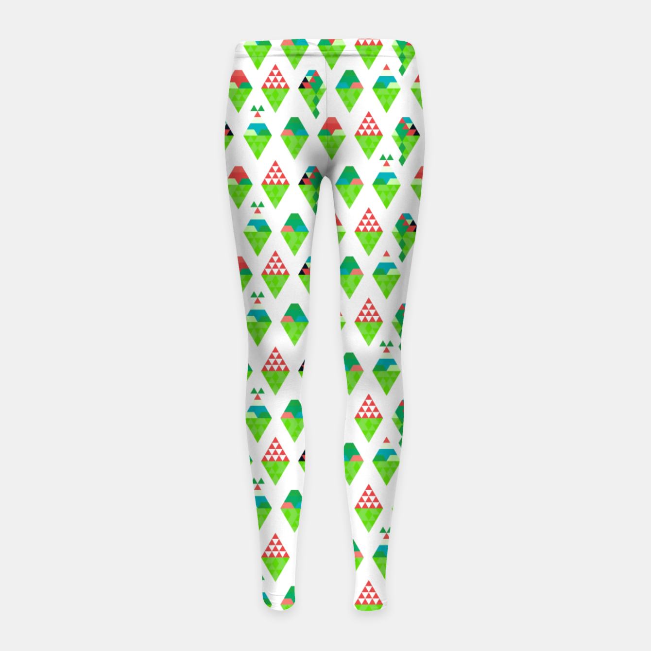 Image of Lucys Ice Cream Green – Girl's leggings - Live Heroes