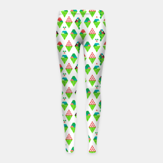 Thumbnail image of Lucys Ice Cream Green – Girl's leggings, Live Heroes