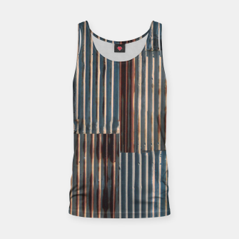 Thumbnail image of Fashion art of a Photo Pattern of a rusty iron texture Tank Top, Live Heroes