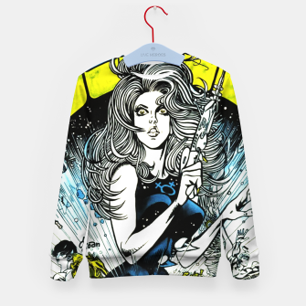 Miniaturka Fashion items of Barbarella comic magazine cover  illustration  Kid's sweater, Live Heroes