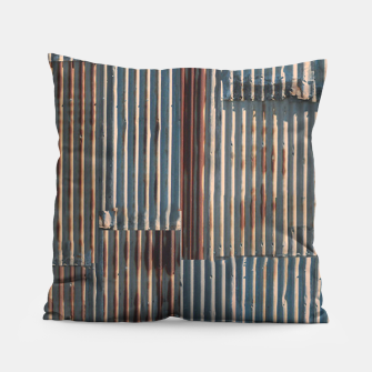 Thumbnail image of Fashion art of a Photo Pattern of a rusty iron texture Pillow, Live Heroes