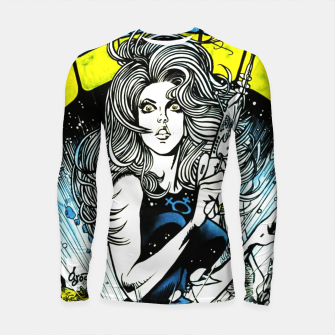 Miniaturka Fashion items of Barbarella comic magazine cover  illustration  Longsleeve rashguard , Live Heroes