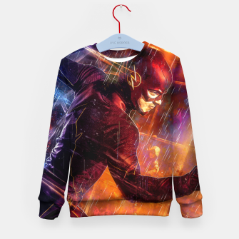 Thumbnail image of Vortex Kid's sweater, Live Heroes