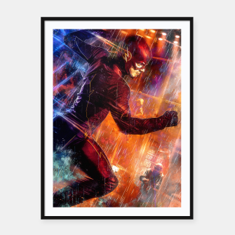 Thumbnail image of Vortex Framed poster, Live Heroes