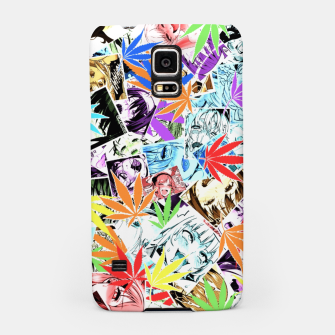 Thumbnail image of Weed Ahegao Samsung Case, Live Heroes