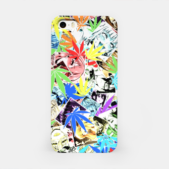 Weed Ahegao iPhone Case thumbnail image