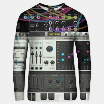 Fashion art of a Collage of VSTi's And Digital music production  Unisex sweater thumbnail image