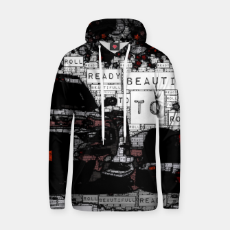Thumbnail image of Fashion art of car words Hoodie, Live Heroes
