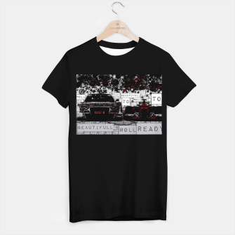 Thumbnail image of Fashion art of car words T-shirt regular, Live Heroes
