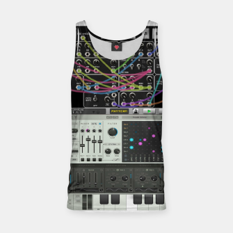 Fashion art of a Collage of VSTi's And Digital music production  Tank Top thumbnail image