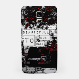 Thumbnail image of Fashion art of car words Samsung Case, Live Heroes