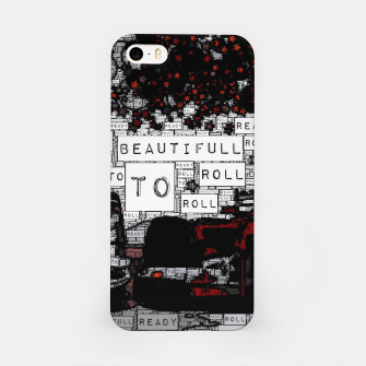 Thumbnail image of Fashion art of car words iPhone Case, Live Heroes