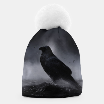 Thumbnail image of Raven in the Fog  Mütze, Live Heroes