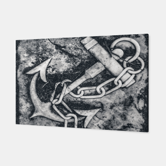 Thumbnail image of Anchor Sculpture Photo Canvas, Live Heroes