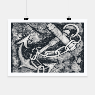 Thumbnail image of Anchor Sculpture Photo Poster, Live Heroes