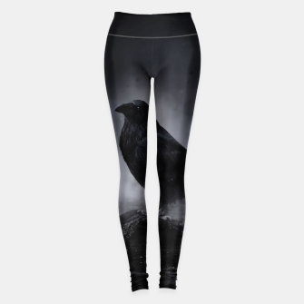 Miniatur Raven in the Fog  Leggings, Live Heroes