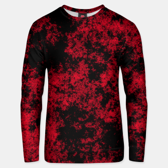 Thumbnail image of Pattern Texture Noir/Rouge Unisex pull, Live Heroes