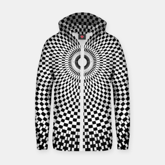 Thumbnail image of Fashion art and decor items of a circular Mandala Pattern Zip up hoodie, Live Heroes