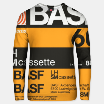 Thumbnail image of Fashion items of Cassette Tape BASF 60 Unisex sweater, Live Heroes