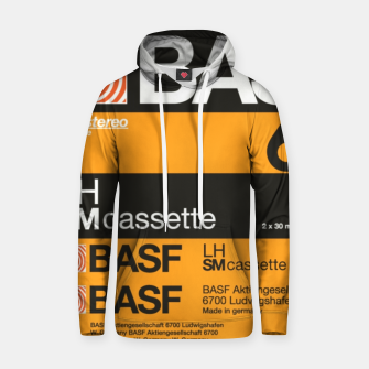 Thumbnail image of Fashion items of Cassette Tape BASF 60 Hoodie, Live Heroes