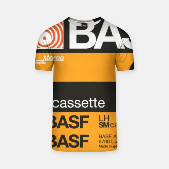 Thumbnail image of Fashion items of Cassette Tape BASF 60 T-shirt, Live Heroes